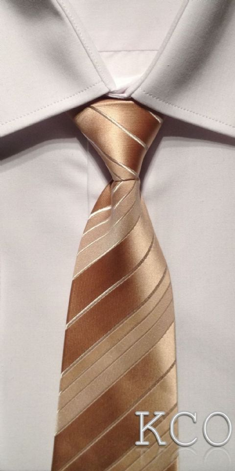 Elasticated Tie~ Style THS001E Caramel